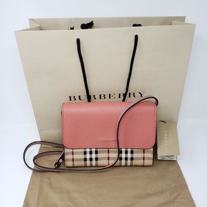 Brand New Burberry Crossbody or Clutch Bag